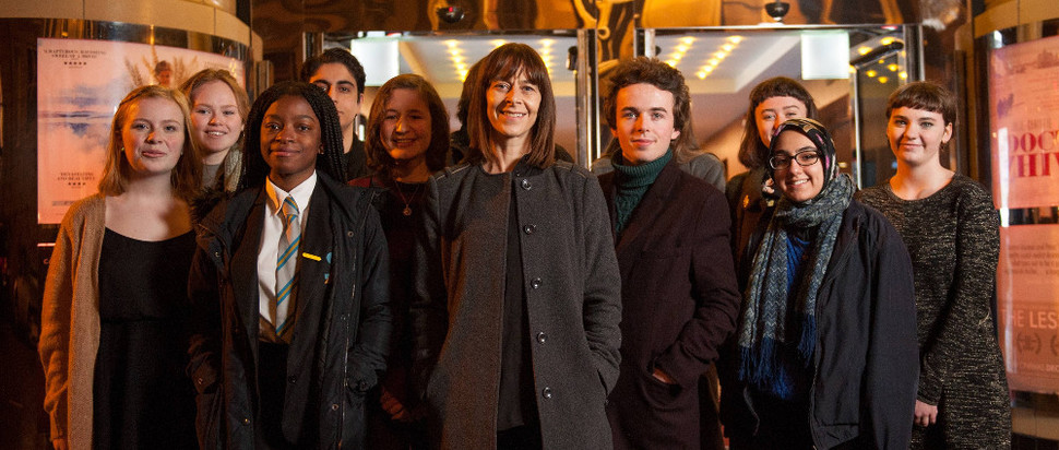Kate Dickie and GYFF team