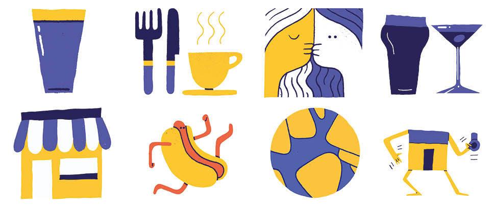 """Food Survey 2015 by <a href=""""http://cargocollective.com/micawarren/"""" target=""""_blank"""">Mica Warren</a>"""