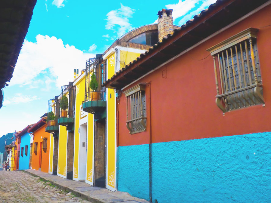 Street view, Bogota