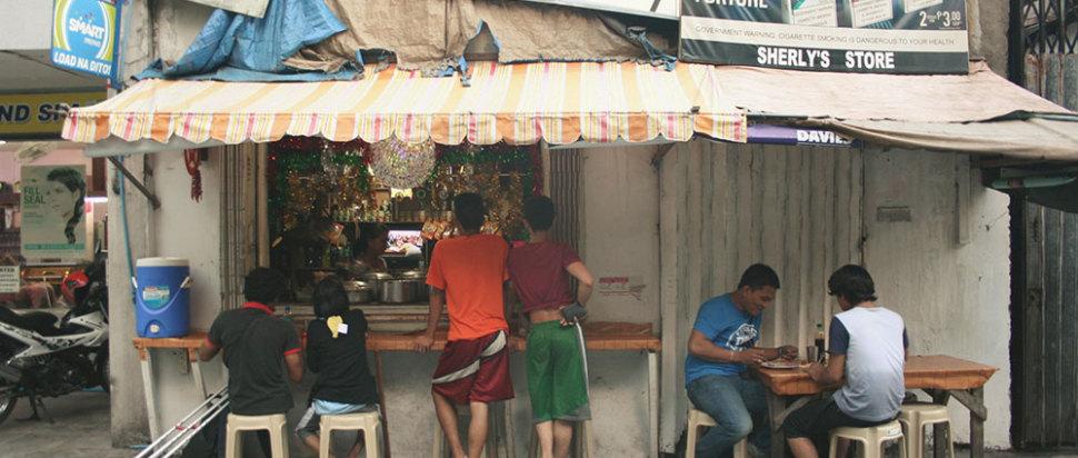 A Bar in Manila