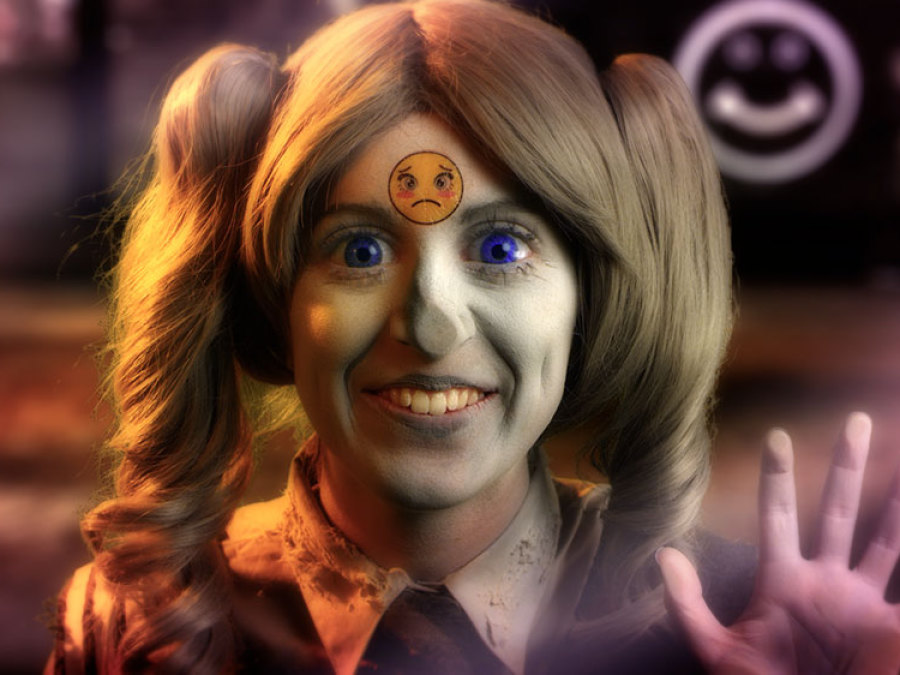 Rachel Maclean, Feed Me, 2015, HD video
