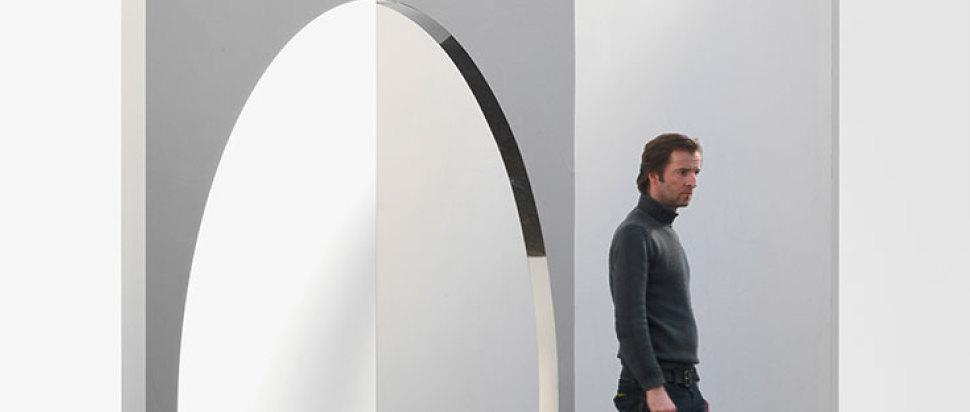Jeppe Hein Geometric Mirror II 2010
