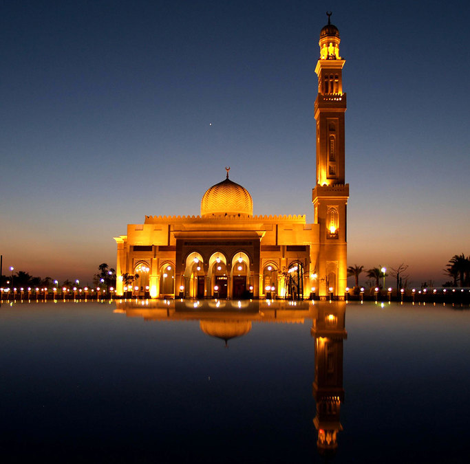 Mosque, Dubai