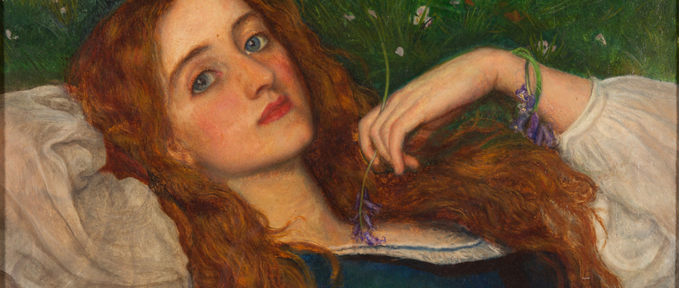 Arthur Hughes  - In the Grass (about 1864–5)