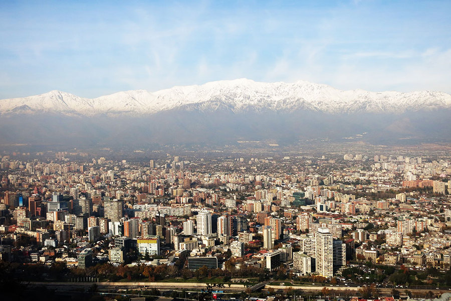 Santiago Skyline, Chile