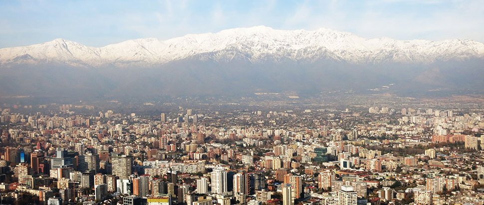 Santiago Skyline, Chile