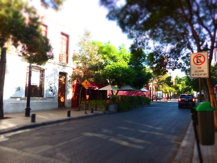 Santiago Street, Chile