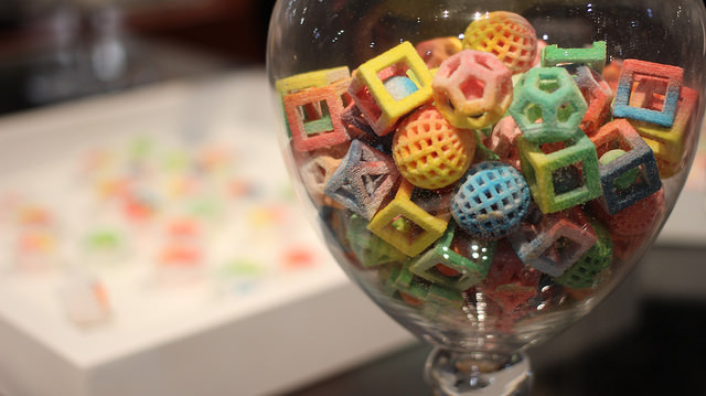 Chefjet 3D Printed Sweets