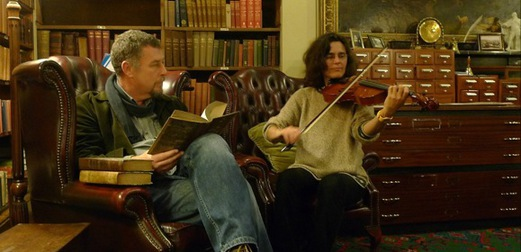 Emma Welton and Tony Whitehead performing at A Quiet Night In, November 2015