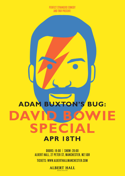 Adam Buxton's BUG: David Bowie Special poster