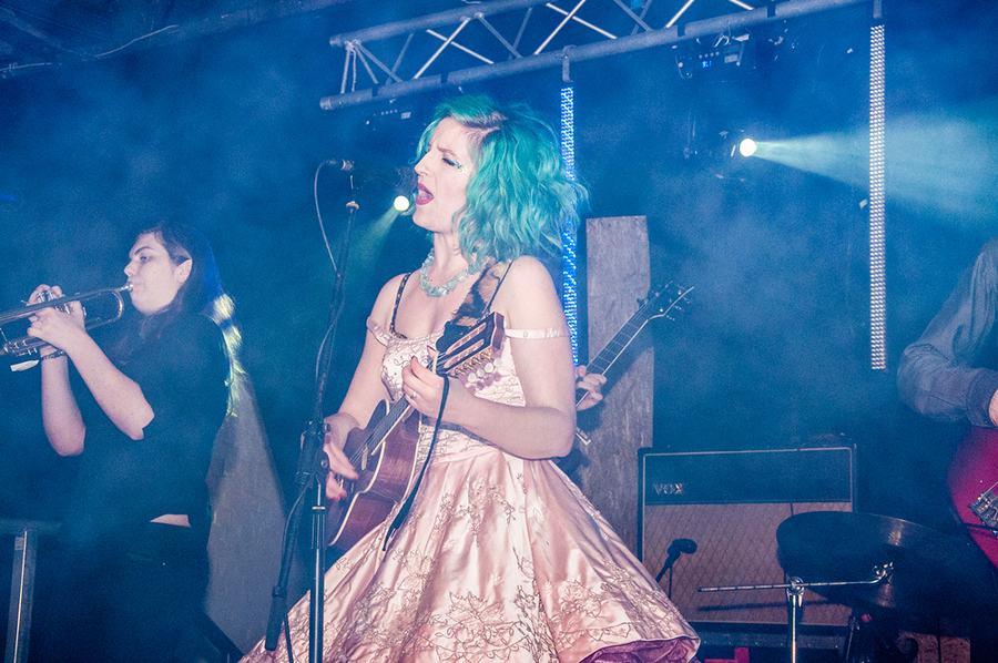 Chanel and the Circus at Threshold Festival 2016