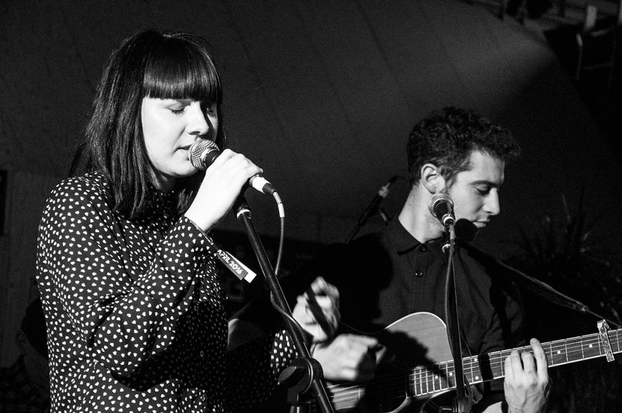 Richard Lomax and Natalie McCool at Threshold Festival 2016