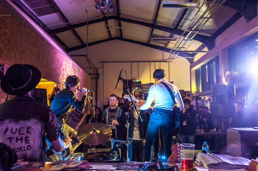 SPARES at Threshold Festival 2016