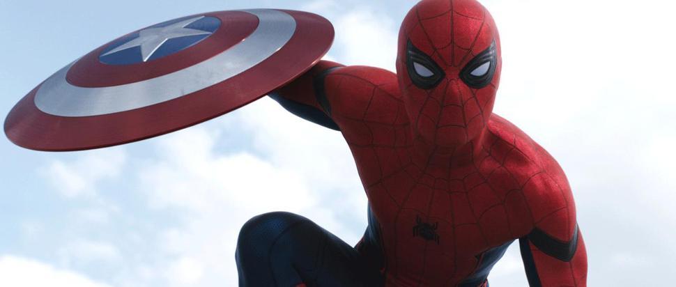 Spider-Man in 'Captain America: Civil War'