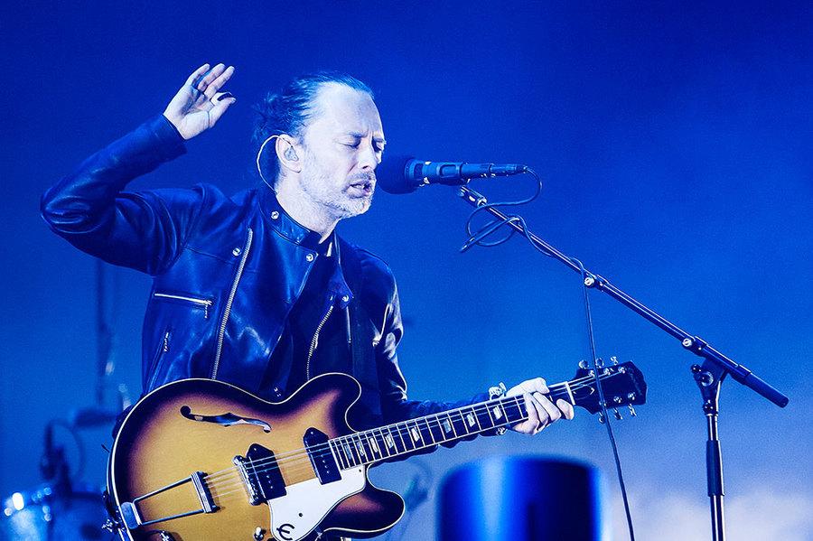 Radiohead live at Primavera 2016