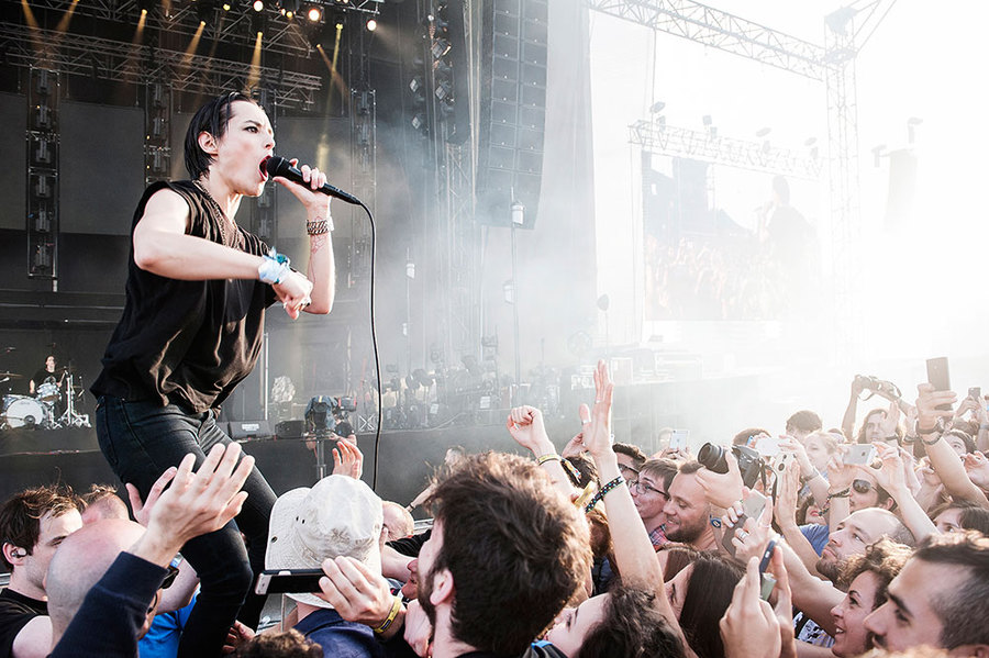 Savages Live at Primavera 2016