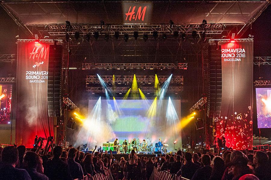 Tame Impala live at Primavera 2016