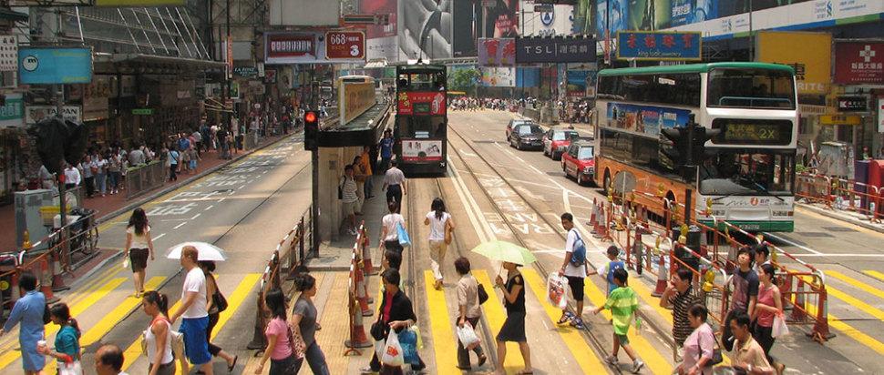 Hong Kong Street Crossing