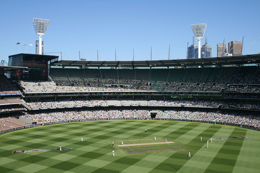 Boxing Day cricket in Melbourne
