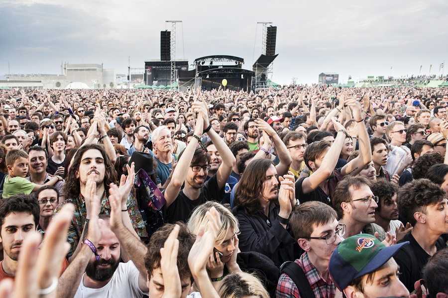 Brian Wilson crowd at Primavera 2016