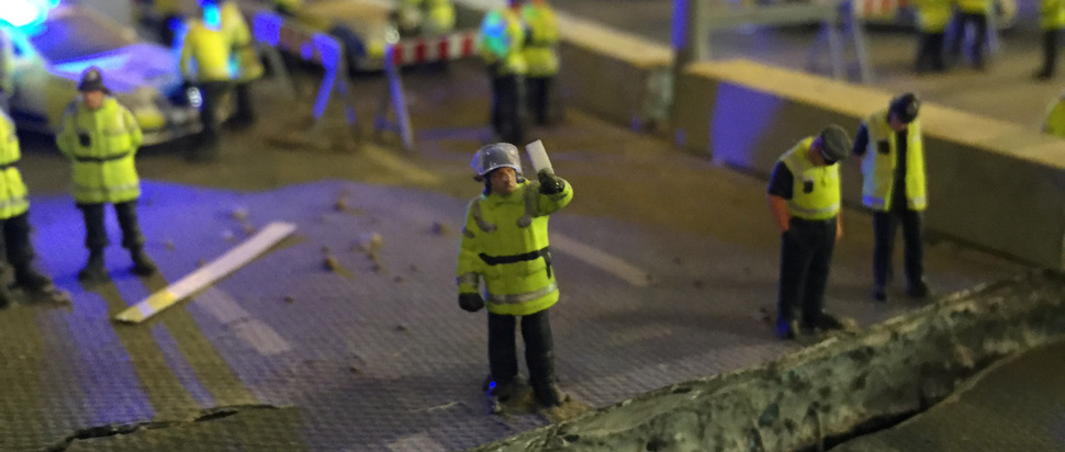 J Cauty - Aftermath Dislocation Principle - Selfie at Disaster Zone