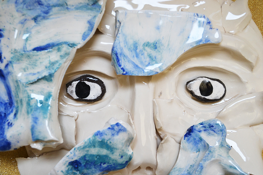 Sally Hackett, The Fountain of Youth, Ceramics, 2016