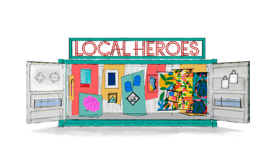 Local Heroes Container