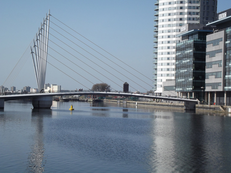 BBC Bridge at Salford