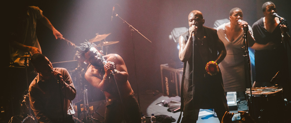 Young Fathers live at The Hub