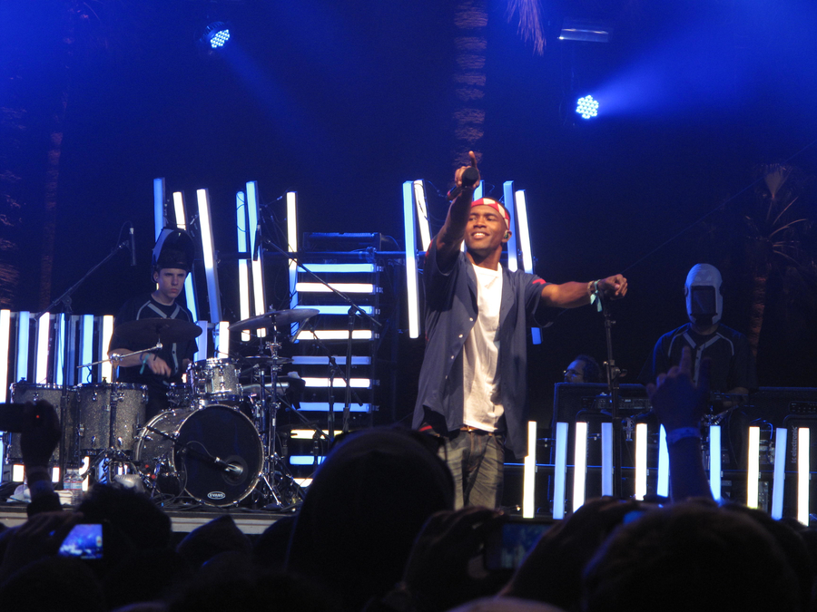 Frank Ocean live at Coachella 2012