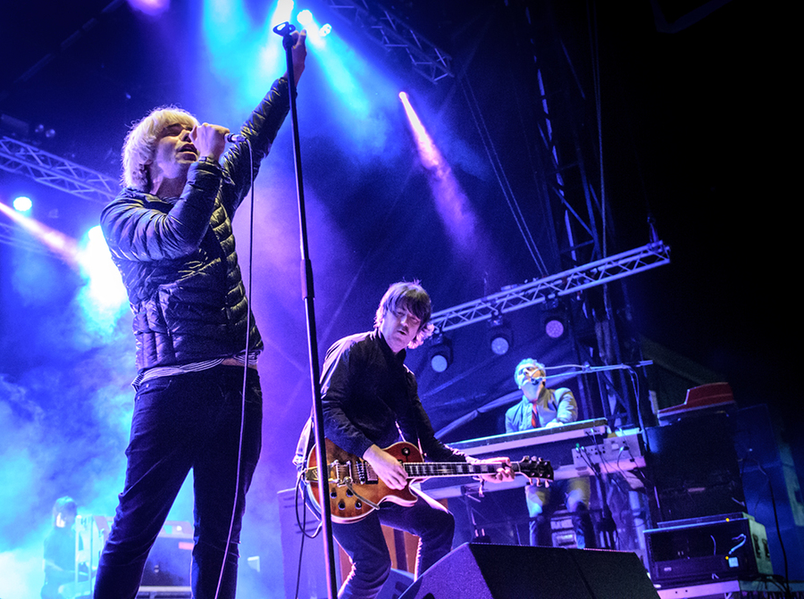 The Charlatans live at Electric Fields 2016