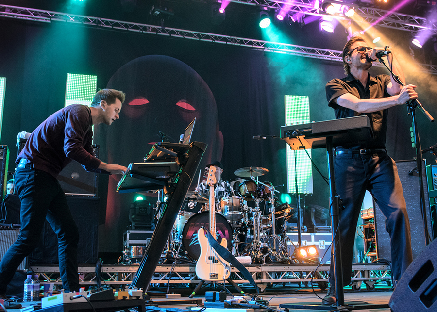 Wild Beasts Live at Electric Fields 2016