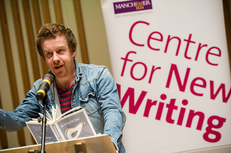 Kevin Barry and John McAuliffe at Manchester Literature Festival