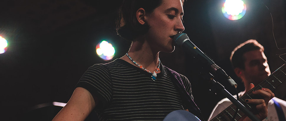 Frankie Cosmos live at Stereo, Glasgow