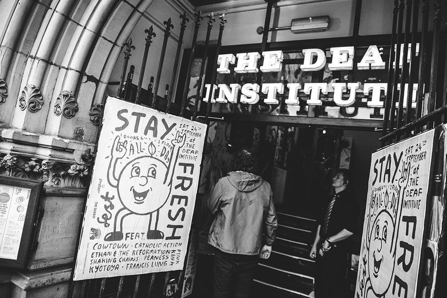 Deaf Institute for Stay Fresh