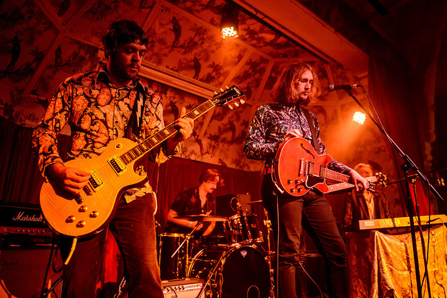 Ethan and the Reformation live at Deaf Institute for Stay Fresh
