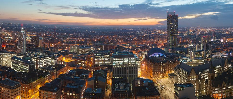Andrew Brooks - Skyline Manchester exhibition