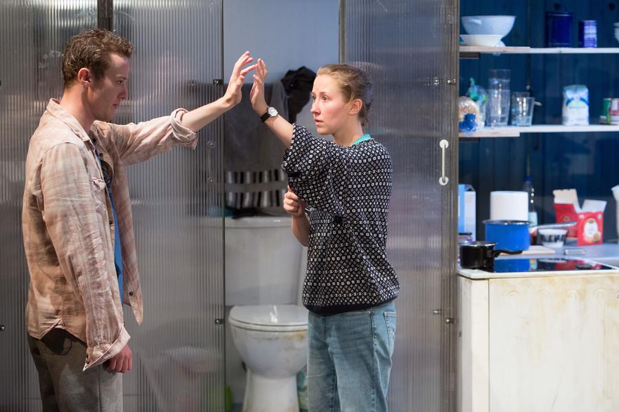 Joseph Quinn as Dean Carmody and Erin Doherty as Tamsin Carmody in WISH LIST