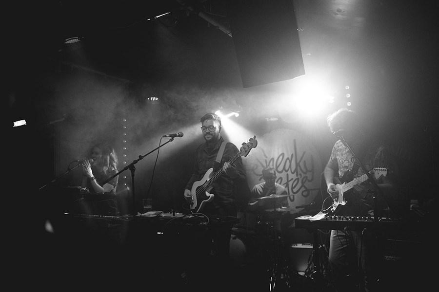 BooHooHoo supporting Teen Canteen live at Sneaky Pete's, Edinburgh
