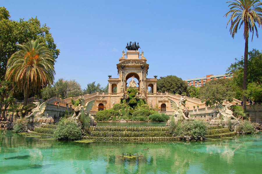 The Fountain in the Parc de la Ciutadella, Barcelona