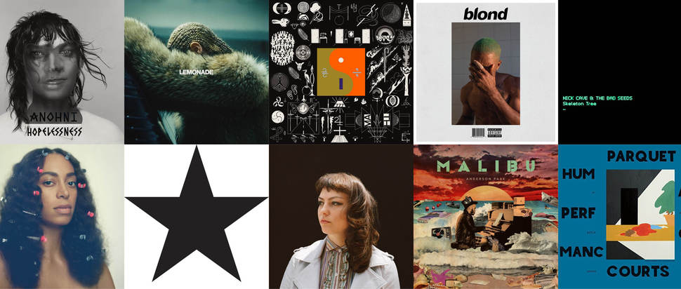 Albums of 2016