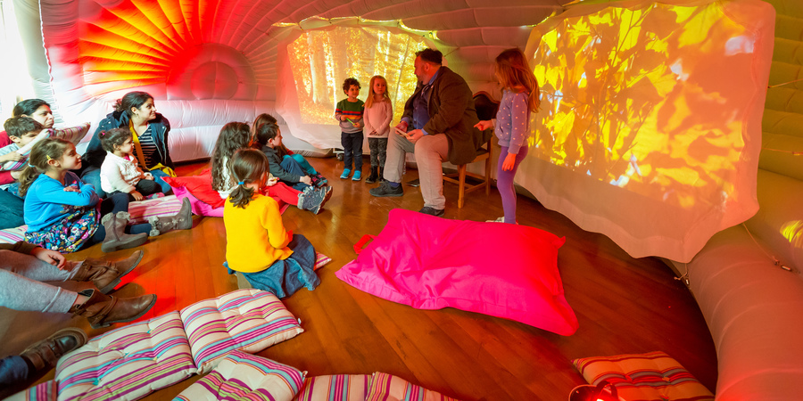Storyhouse Storytelling room