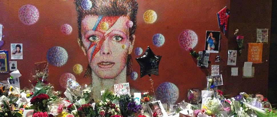 David Bowie's Brixton memorial