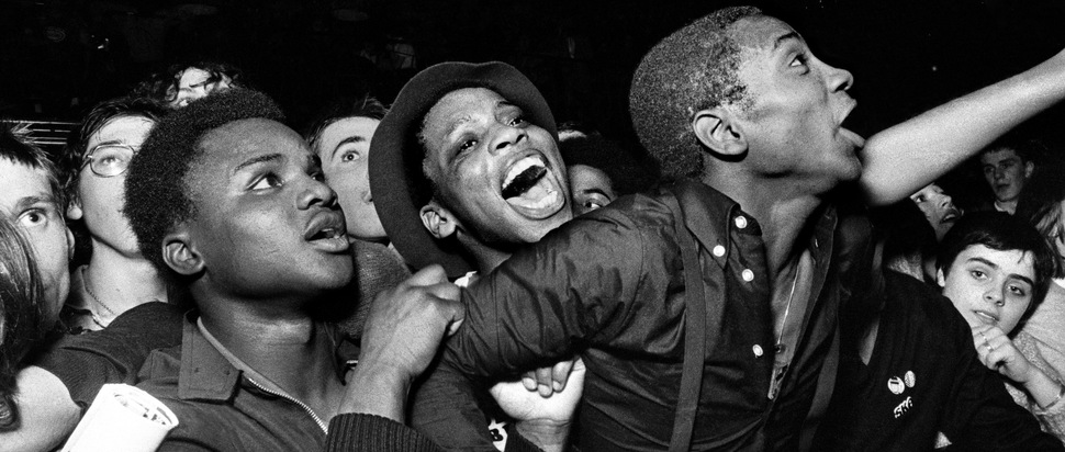 Syd Shelton, from the series 'Rock Against Racism'