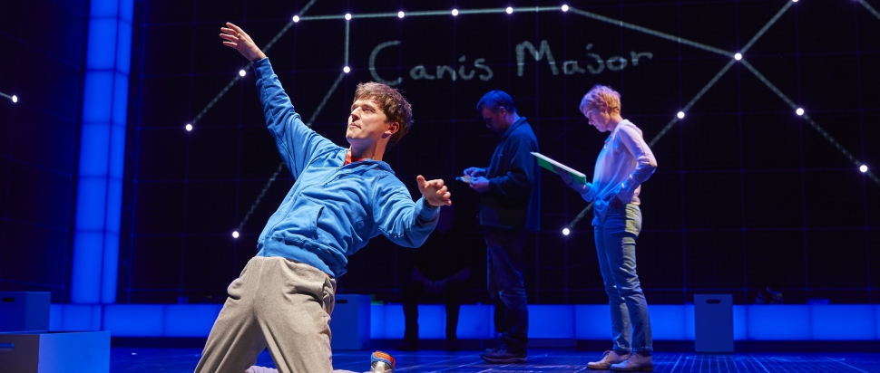 Joshua Jenkins (Christopher) in The Curious Incident of the Dog in the Night-Time