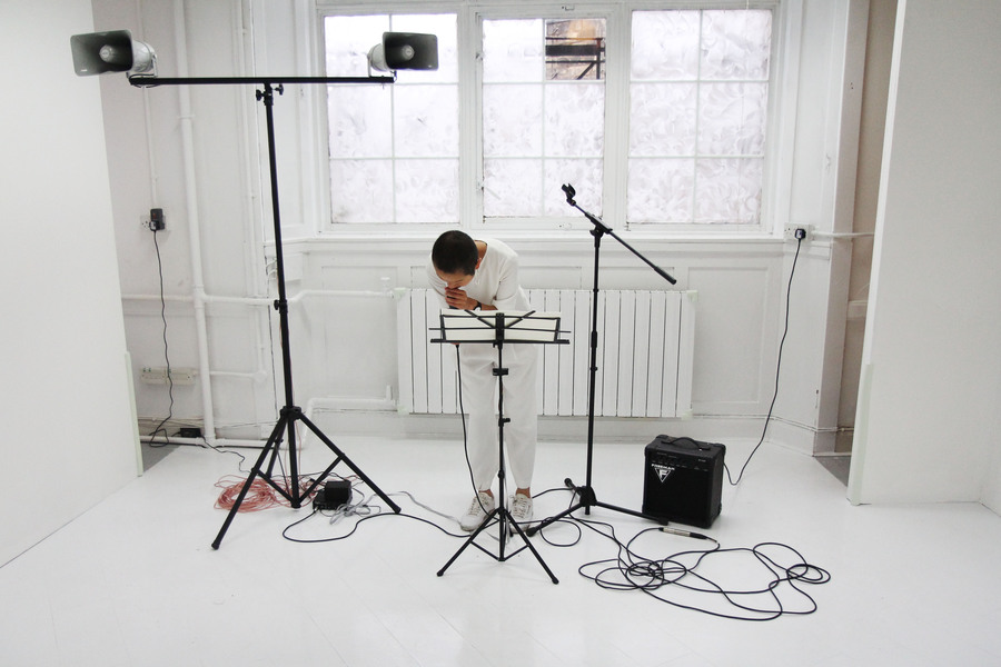 Elaine Ang, Perfect Ache, (2016), mixed media sound installation