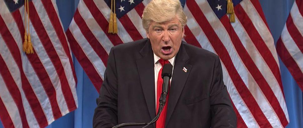 Alec Baldwin as President Donald Trump