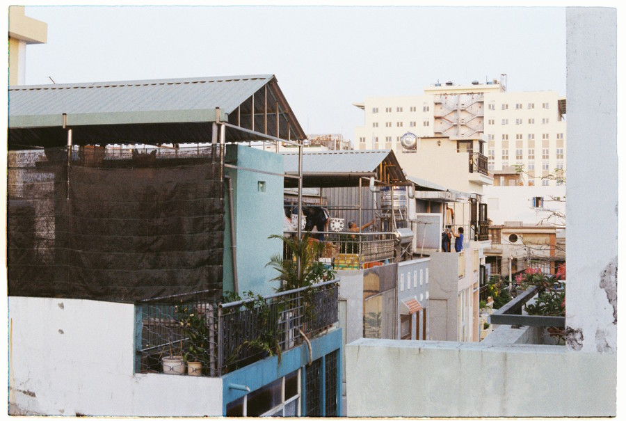 Ho Chi Minh balconies
