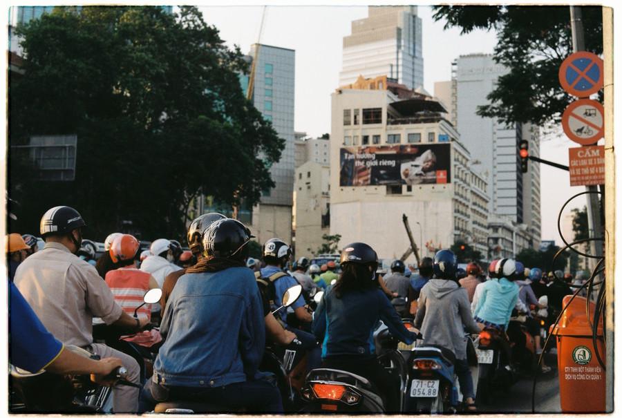 Ho Chi Minh rush hour