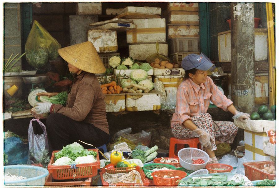 Ho Chi Minh vegetables